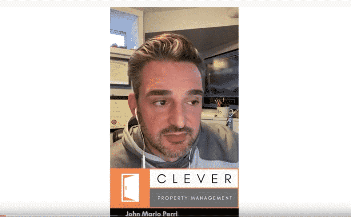 John Perri - How Clever Property Management gets me answers